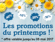 Les promotions du printemps de Home-Boulevard !
