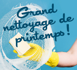 Grand nettoyage de printemps !